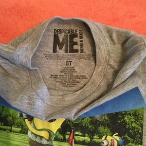 Despicable Me Shirts & Tops - Minions Gray T-shirt